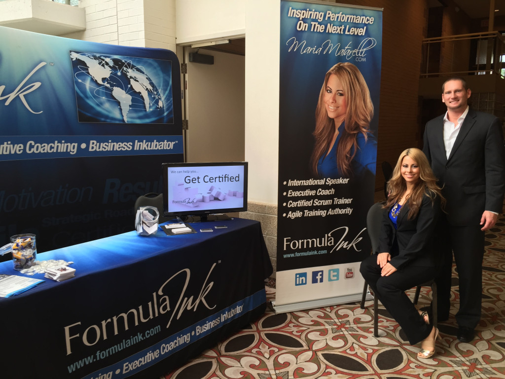Maria Matarelli Formula Ink Booth Ontario