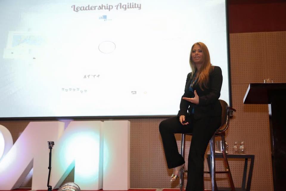 Maria Matarelli Keynote in Panama Leadership Agility