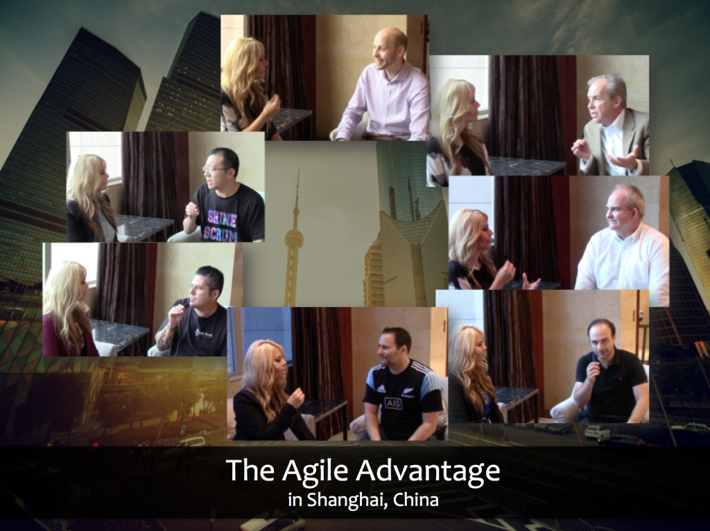 The Agile Advantage Interviews in Shanghai