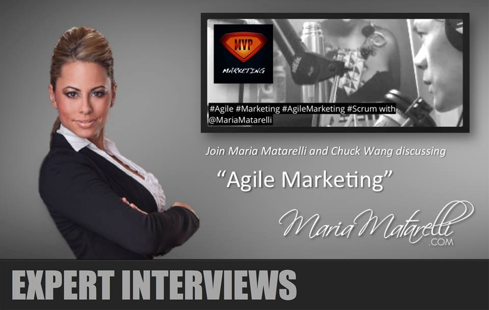 MVP Marketing Podcast_Expert Interviews_Maria Matarelli_Agile Marketing